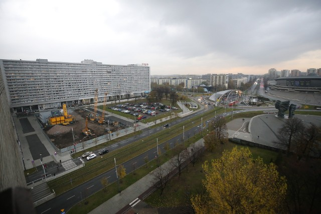 Katowice aleja Korfantego