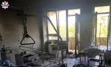 Pożar w krasnostawskim szpitalu. Ewakuowano pacjentów