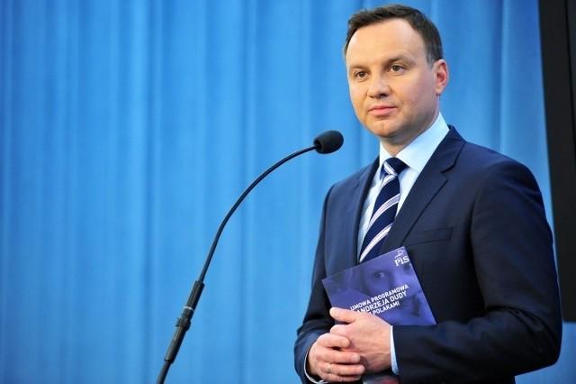 Andrzej Duda, kandydat PiS na prezydenta RP