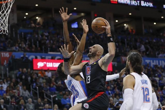 To pierwszy sezon Marcina Gortata w zespole LA Clippers.