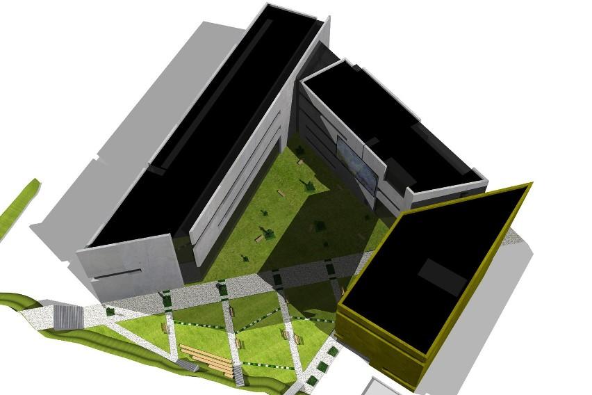 Wizualizacje nowej siedziby katowickiej ASP