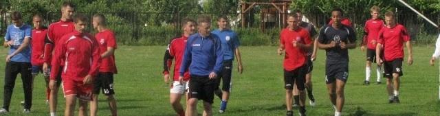 Piłkarze ostrołęckiej Narwi przygotowują się do nowego sezonu