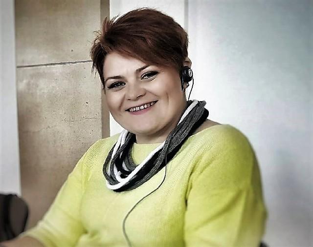 """Barbara Chyłka jest w """"Betanii"""" kierownikiem biura i wolontariatu."""