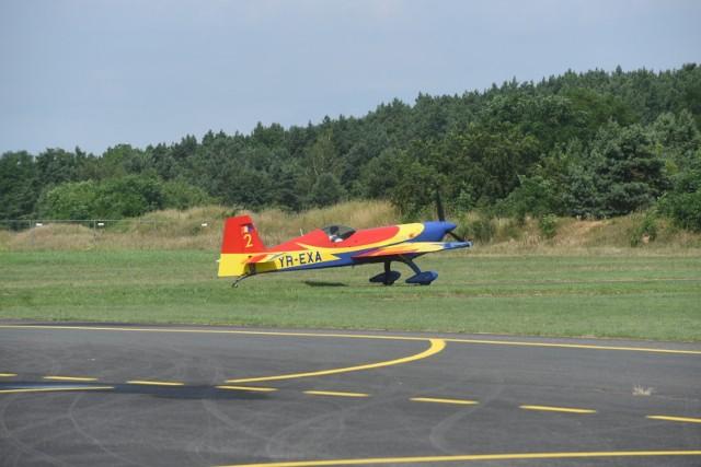 Na lotnisku Aeroklubu Pomorskiego trwają przygotowania do Mistrzostw Świata w Akrobacji Lotniczej