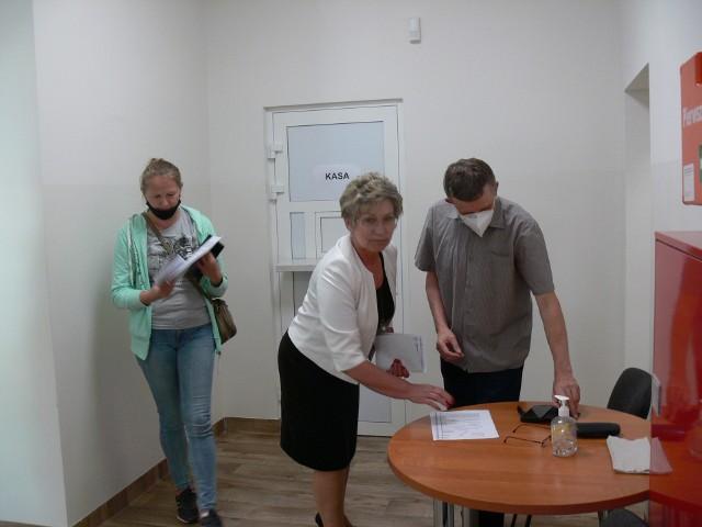Ośrodek Doradztwa Rolniczego w Sandomierzu po generalnym  remoncie. Jest wiele udogodnień dla petentów i pracowników.