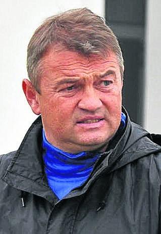 Trener Garbarni Mirosław Hajdo