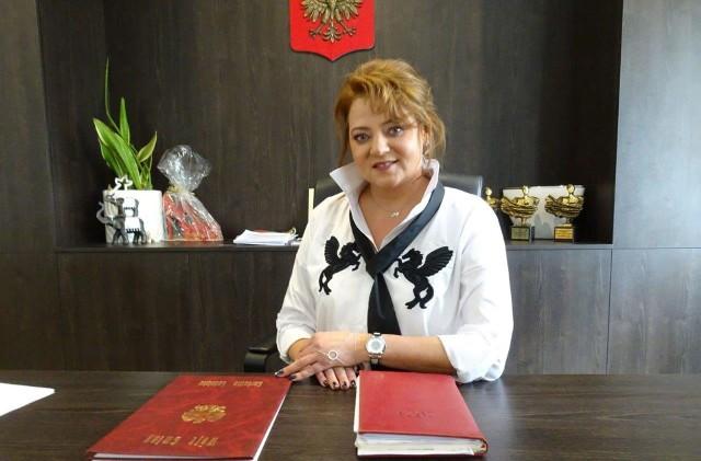 Teresa Fryszkiewicz, wójt gminy Garbatka-Letnisko realizuje obietnice wyborcze złożone przed wyborami w 2018 roku.