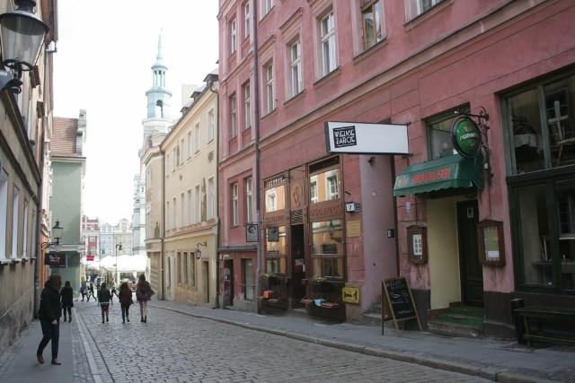 Ul. Zamkowa w Poznaniu