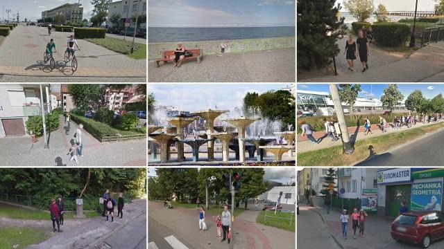 Gdynia w obiektywie Google Street View. Mieszkańcy przyłapani na wypoczynku (i nie tylko!)! Poszukajcie siebie na zdjęciach!