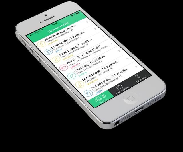 Jest już dostępna aplikacja: kiedy wywóz śmieci.