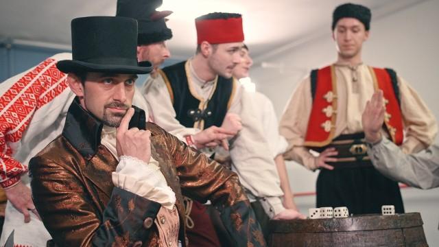 """""""Kozaki, czyli oszustwo ukarane"""" - nowy spektakl Baletu Cracovia Danza będzie można obejrzeć na jego kanale w serwisie YUTube w poniedziałek - 14 grudnia o godz. 20"""