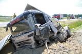Wypadek w Jadachach. Droga krajowa numer 9 była zablokowana [ZDJĘCIA]