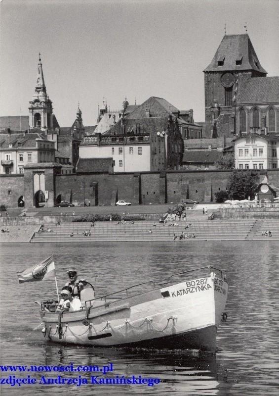 Łódź szybko stała się jednym z elementów wiślanej panoramy miasta.