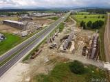 Budowa zakopianki pomiędzy Rdzawką i Nowym Targiem. Imponujące nowe zdjęcia! [GALERIA] 27.09.2021