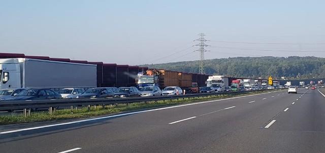 Na autostradzie A4 od rana korki. Dobra wiadomość: będą bardziej czytelne oznakowania i deszczówka ma spływać szybciej. Zła wiadomość: dziś trzeba się liczyć z korkami i w stronę Wrocławia, i w stronę Katowic.