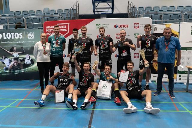 Mimo porażki w finale, siatkarze Politechniki Opolskiej i tak odnieśli bardzo duży sukces w finałach AMP.