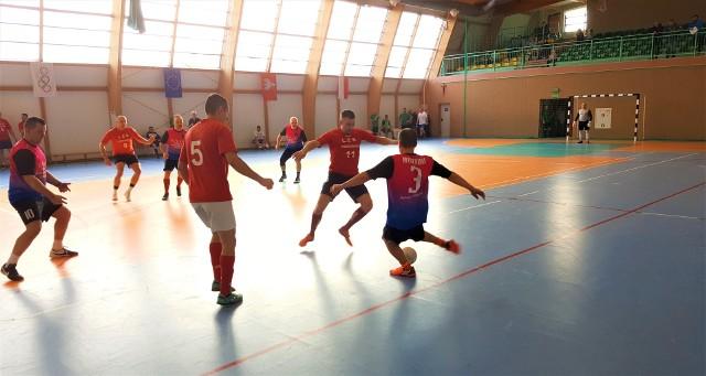 Halowy turniej piłki nożnej oldboyów w Chudku, 19.01.2020 [