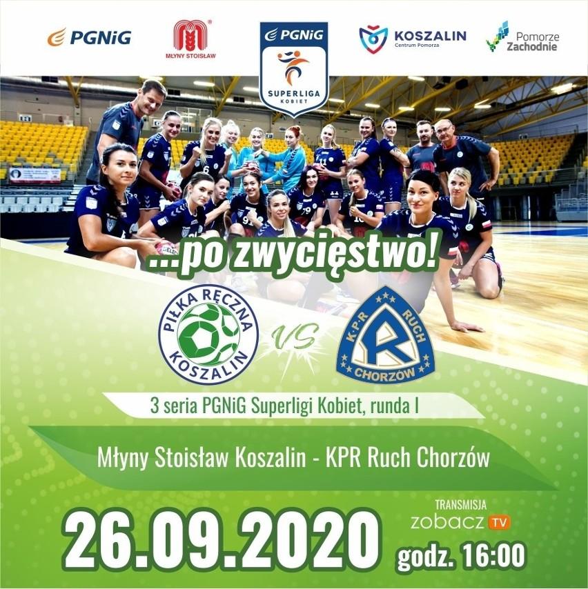 Ruszają mecze drużyny Młyny Stoisław Koszalin