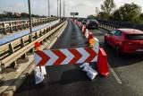 Fatalny stan wiaduktów Warszawskich, wprowadzono ograniczenia w ruchu [zdjęcia]
