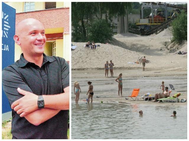 Jacek Taradajczyk, na co dzień pracuje w Komendzie Miejskiej Policji w Legnicy. Za uratowanie tonącego mężczyzny otrzymał nagrodę od wójta gminy Chojnów, a także od właścicieli ośrodka wypoczynkowego w Rokitkach gdzie mogło dojść do tragedii.