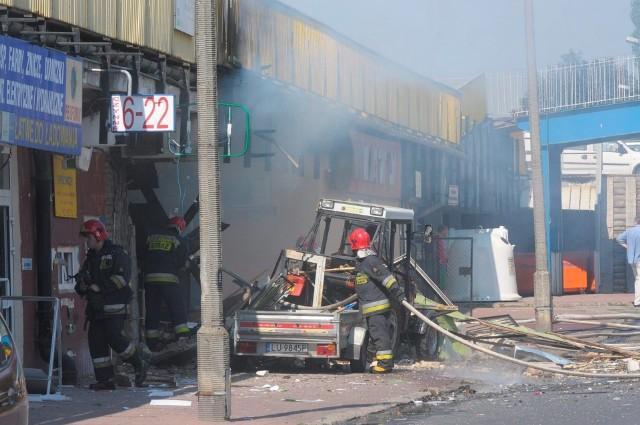 Do wybuchu przy Kleeberga doszło w lipcu 2012 r. Po 5 latach Andrzej R. odpowie za swoje czyny