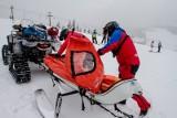 Akcja pod Śnieżką. Artur Szpilka i jego pies uratowani przez GOPR-owców