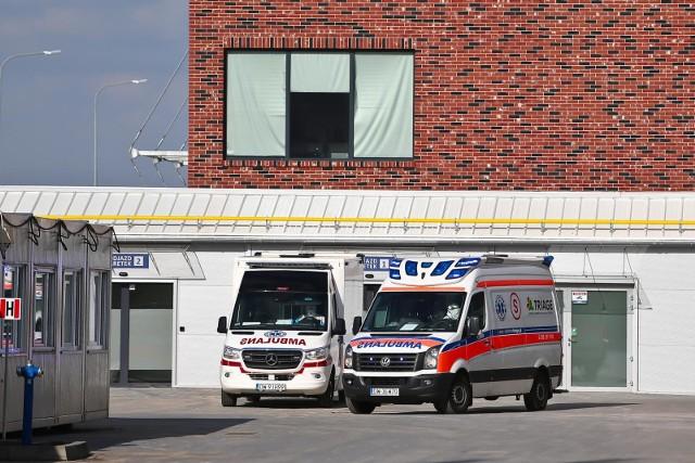 W szczycie pandemii było tu przeszło 200 pacjentów