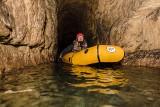 Rafting w Sztolni Czarnego Pstrąga w Tarnowskich Górach. To pierwsza tego typu oferta na świecie!