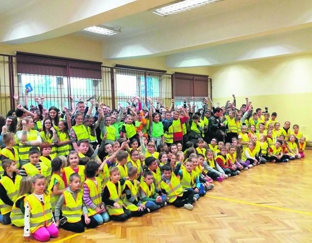 """Akcja ,,Odblaskowa Szkoła"""""""