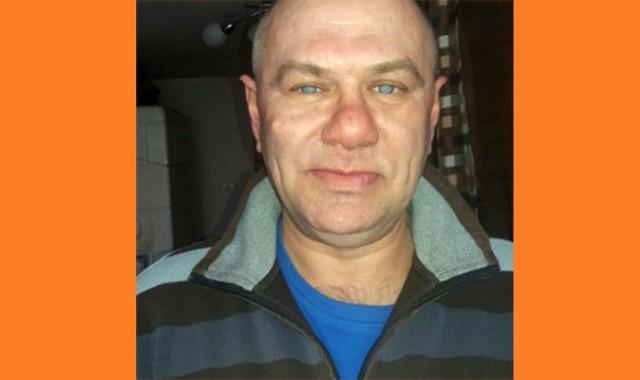 Zaginął Grzegorz Budziński, wiek z wyglądu około 50 lat, wzrost 178 cm. Od 14 listopada br. rodzina nie ma kontaktu z zaginionym.