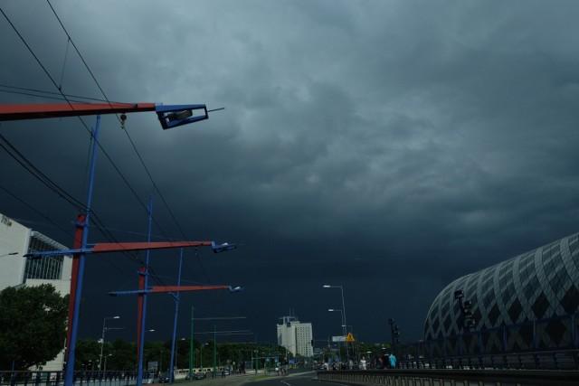 IMGW: Burze nadciągają nad Wielkopolskę