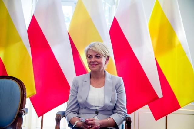 Jedną z zatrzymanych jest Andżelika Borys, prezes Związku Polaków na Białorusi.