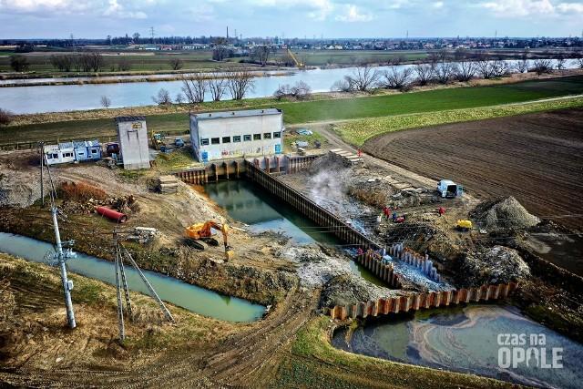 Polder Żelazna. Rozpoczęto realizację wielkiej inwestycji przeciwpowodziowej pod Opolem