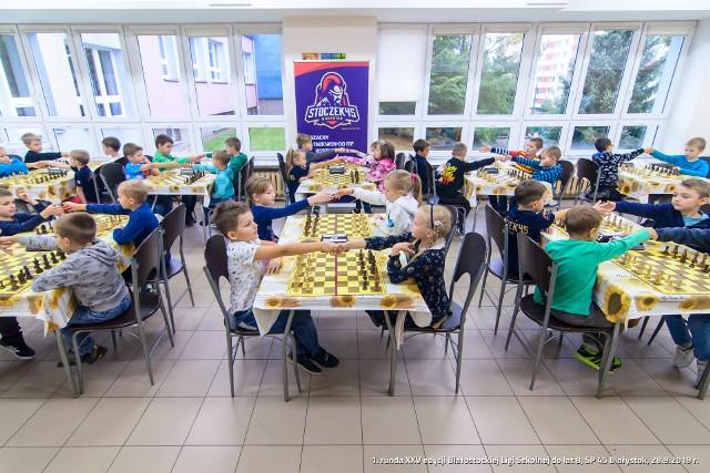 W Białymstoku wystartowały rozgrywki Szachowej Białostockiej Ligi Szkolnej