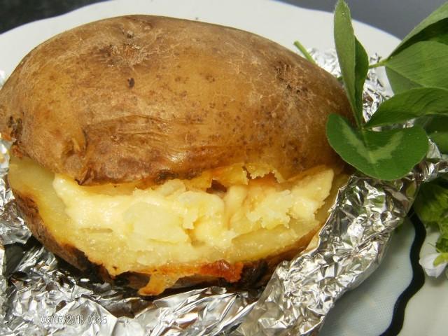 Nadziewany ziemniak prosto z kuchni pani Agaty.