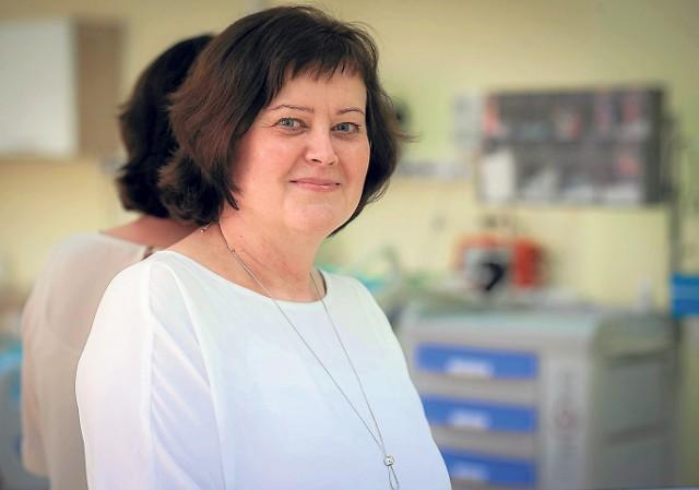 Beata Koronkiewicz, kanclerz Państwowej Wyższej Szkoły Zawodowej w Koszalinie.