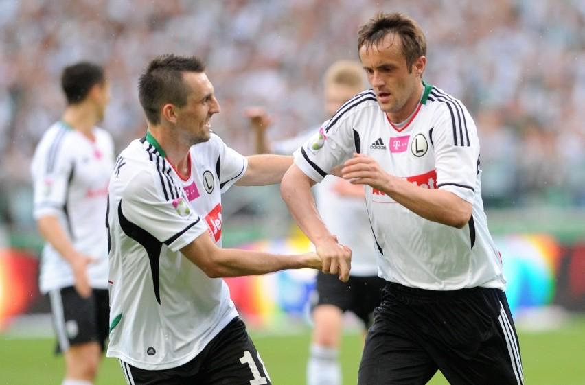 25 sierpnia 2011 r. Legia Warszawa, po latach posuchy na...