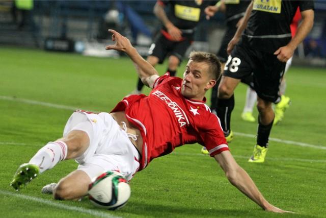 Łukasza Burligi zabraknie w meczu Wisły Kraków z Termalicą Bruk-Bet Nieciecza