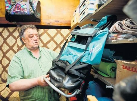 Wypożyczenie plecaka kosztuje od 1,50 zł do 3 zł w zależności od pojemności.