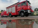 Pożar budynku wielorodzinnego. Dziesięć osób ewakuowanych
