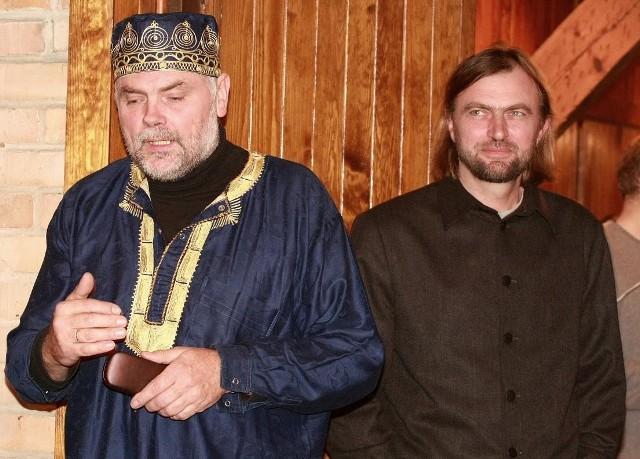 Wojciech Plust i MIchał Bajsarowicz