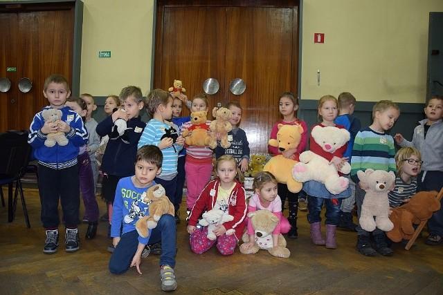 Światowy Dzień Pluszowego Misia. Dzieci z gorzowskich przedszkoli bawiły się w Miejskim Centrum Kultury.
