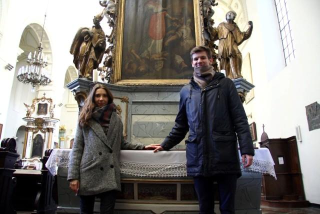 Stałymi gośćmi mszy o miłość w kościele przy Bernardyńskiej są Justyna Świerczek i Konrad Węgliński