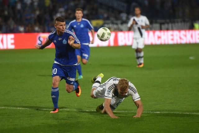 Ruch Chorzów przegrał z Legią Warszawa 2:0