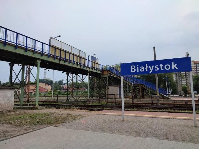 Białystok. Duże utrudnienia w kursowaniu pociągów przez uszkodzone torowisko