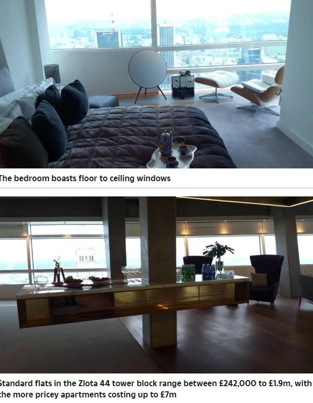 Robert Lewandowski jest właścicielem luksusowego apartamentu...