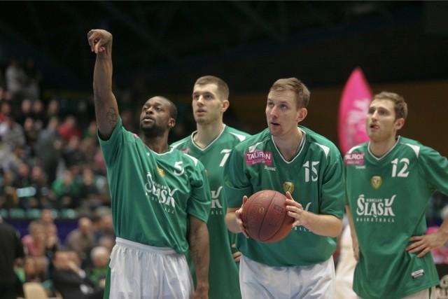 Koszykarze Śląska nie będą faworytem tego spotkania