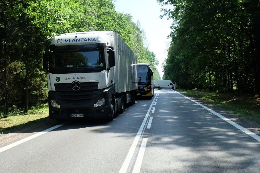 Wypadek śmiertelny w okolicach miejscowości Przewalanka