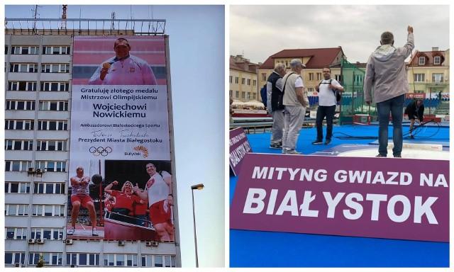 Mityng Gwiazd już w piątek (20.08) na Rynku Kościuszki w Białymstoku. Obecnie trwają techniczne przygotowania do imprezy.