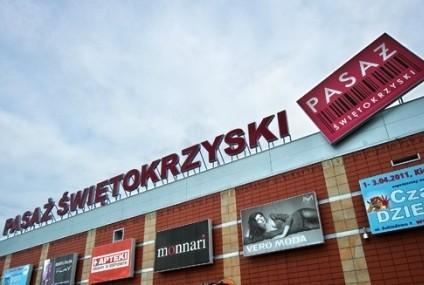 Pasaż Świętokrzyski w Kielcach.